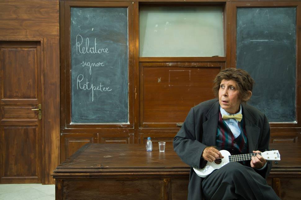 """Marina Confalone è """"Il Signor Rotpeter"""""""