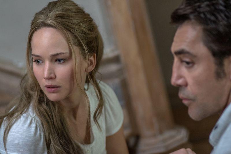 Jennifer Lawrence e Javier Bardem