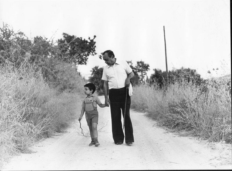 Sciascia con il nipote Catalano