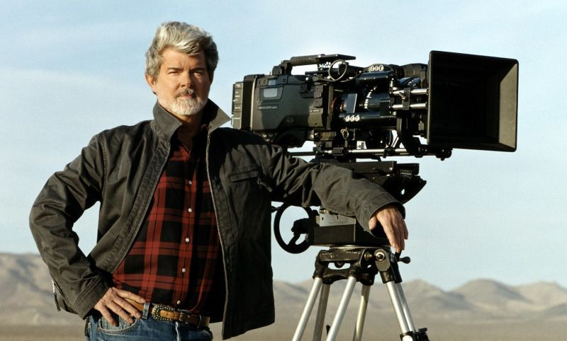 George Lucas (AP Photo/Lucasfilm Ltd.)