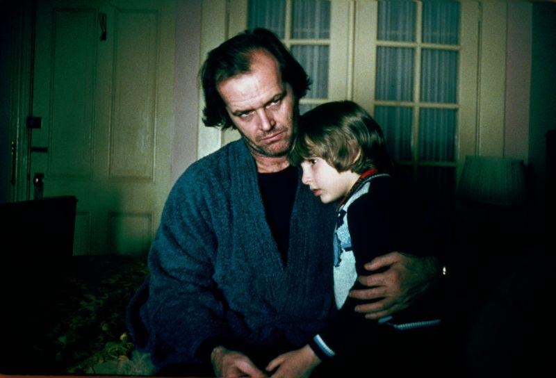 Jack Nicholson e Danny Lloyd