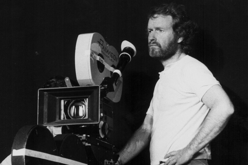 "Ridley Scott sul set di ""Alien"" (1979)"