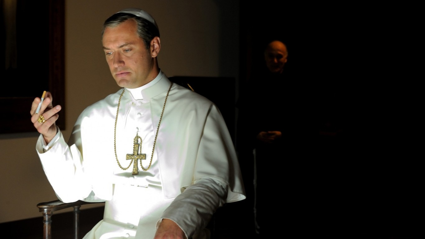 "Jude Law nel ""The Young Pope"" di Paolo Sorrentino"
