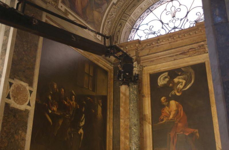 Cappella Contarelli, San Luigi dei Francesi, Roma