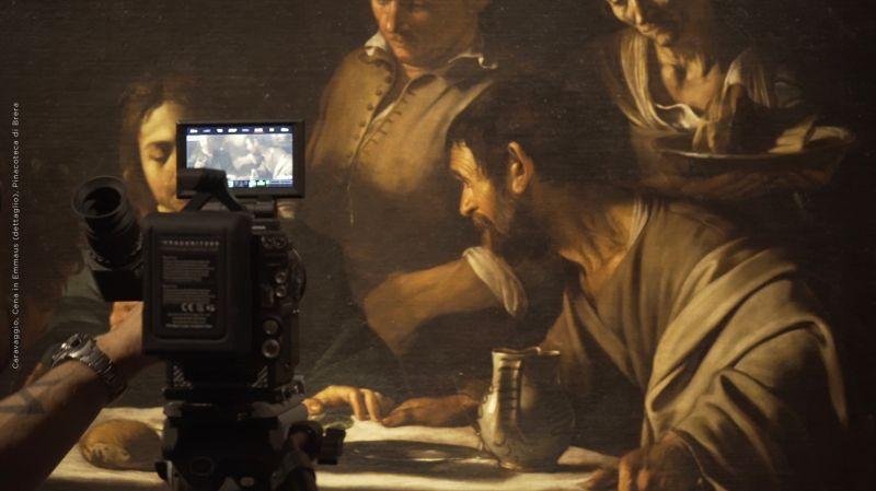 Ottavio Leoni, Ritratto di Caravaggio, Biblioteca Marucelliana, Firenze