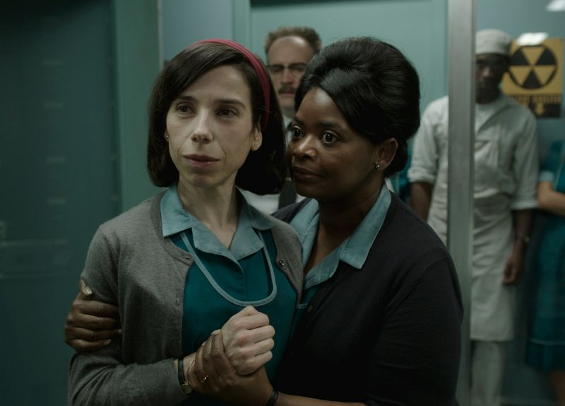 Sally Hawkins e Octavia Spencer (Photo courtesy of Fox Searchlight Pictures. © 2017 Twentieth Century Fox Film Corporation All Rights Reserved)