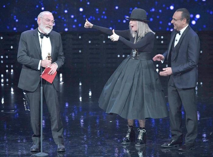 Renato Carpentieri premiato da Diane Keaton