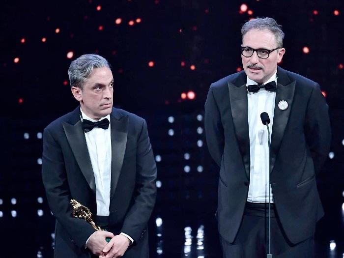 Fabio Grassadonia e Antonio Piazza, Miglior Sceneggiatura Adattata per Sicilian Ghost Story