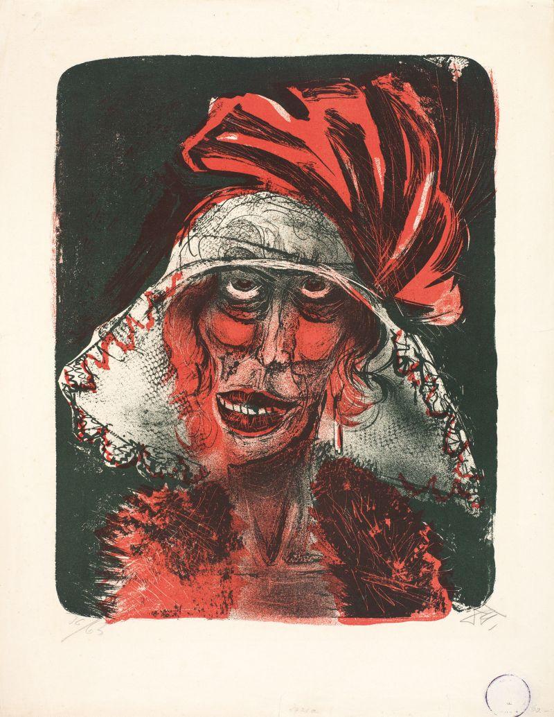 Otto Dix, Leonie, 1923, Kunstmuseum Bern