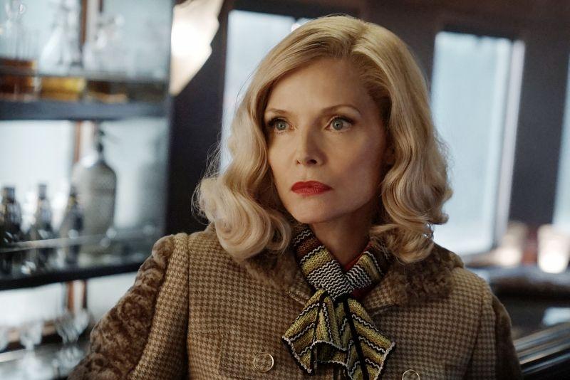 """Michelle Pfeiffer nel recente """"Assassinio Sull'Orient Express"""""""