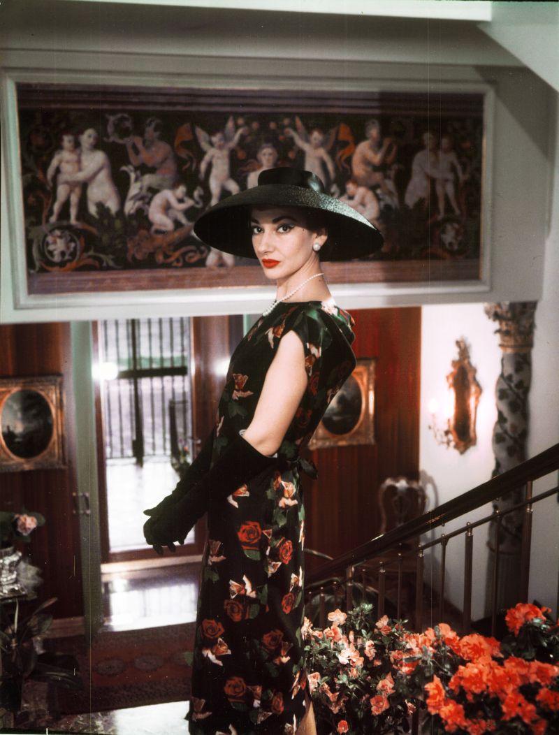 Milan chez elle 1958 Copyright Fonds de Dotation Maria Callas