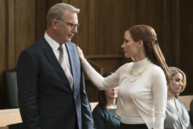 Kevin Costner e Jessica Chastain