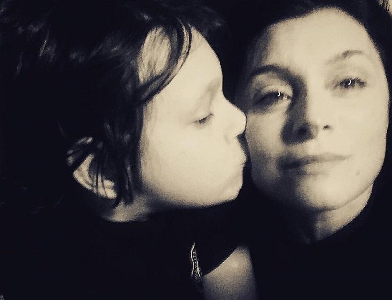 Nino e sua mamma Sabrina