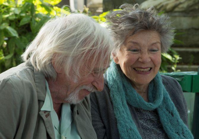 Emmanuelle Riva e Pierre Richard