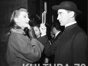 """Sophia Loren e Walter Chiari sul set di """"Un Giorno in Pretura"""""""