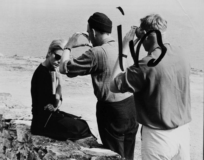 """Persona"" 1966 AB Avensk Filmindustri B A Vibenius - BERGMAN STIFTELSENS ARKIV"