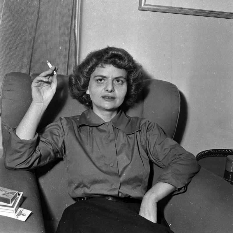 Elsa Morante (Roma luglio 1953)