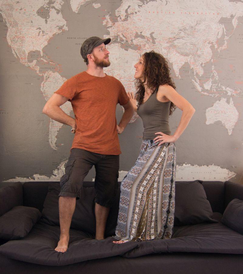"""""""Voglio Vivere in Italia"""" con Simone Chiesa e Anna Luciani"""