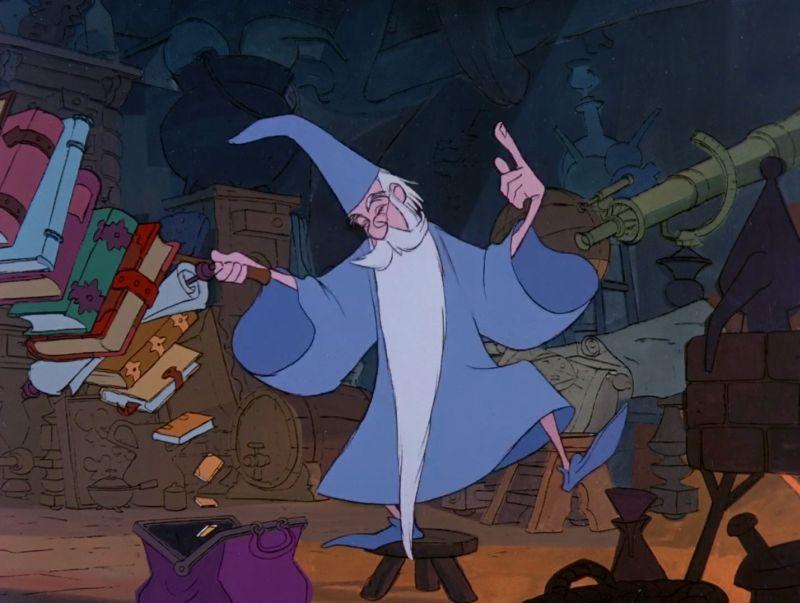 La Spada Nella Roccia (credit Walt Disney)