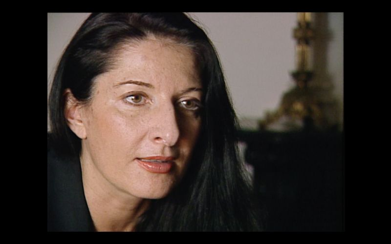 "Marina Abramovic in ""Why Are We Creative?"""