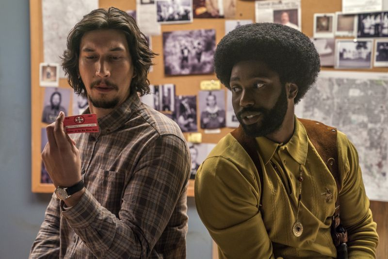 Adam Driver e John David Washington. Credit: David Lee / Focus Features