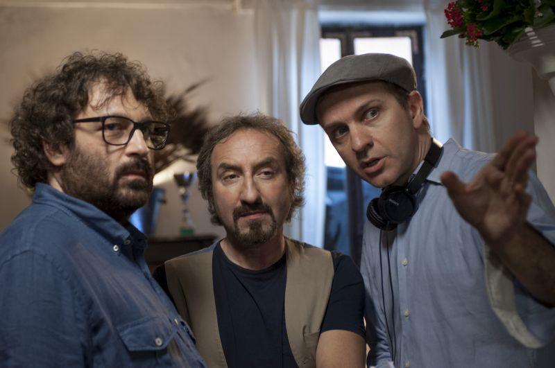 Stefano Anselmi con Nunzio e Paolo