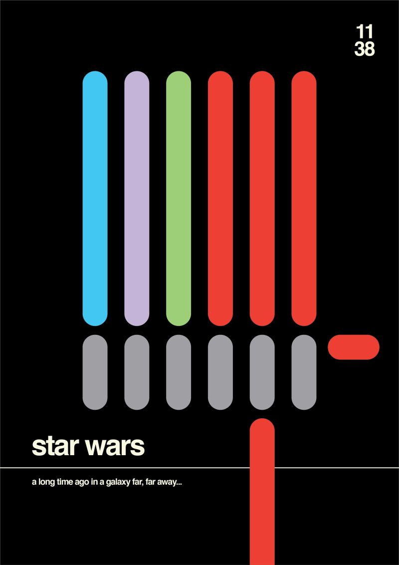 Shortology minimal project Star Wars Lightsaber 228x326