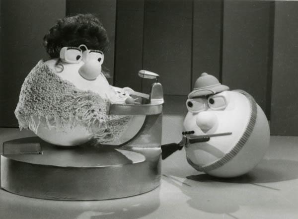 14.Armando Testa, Carosello Philco Papalla (spot tv), 1966-1972, Delta film (1966-1967), Arno film (1968-1972)