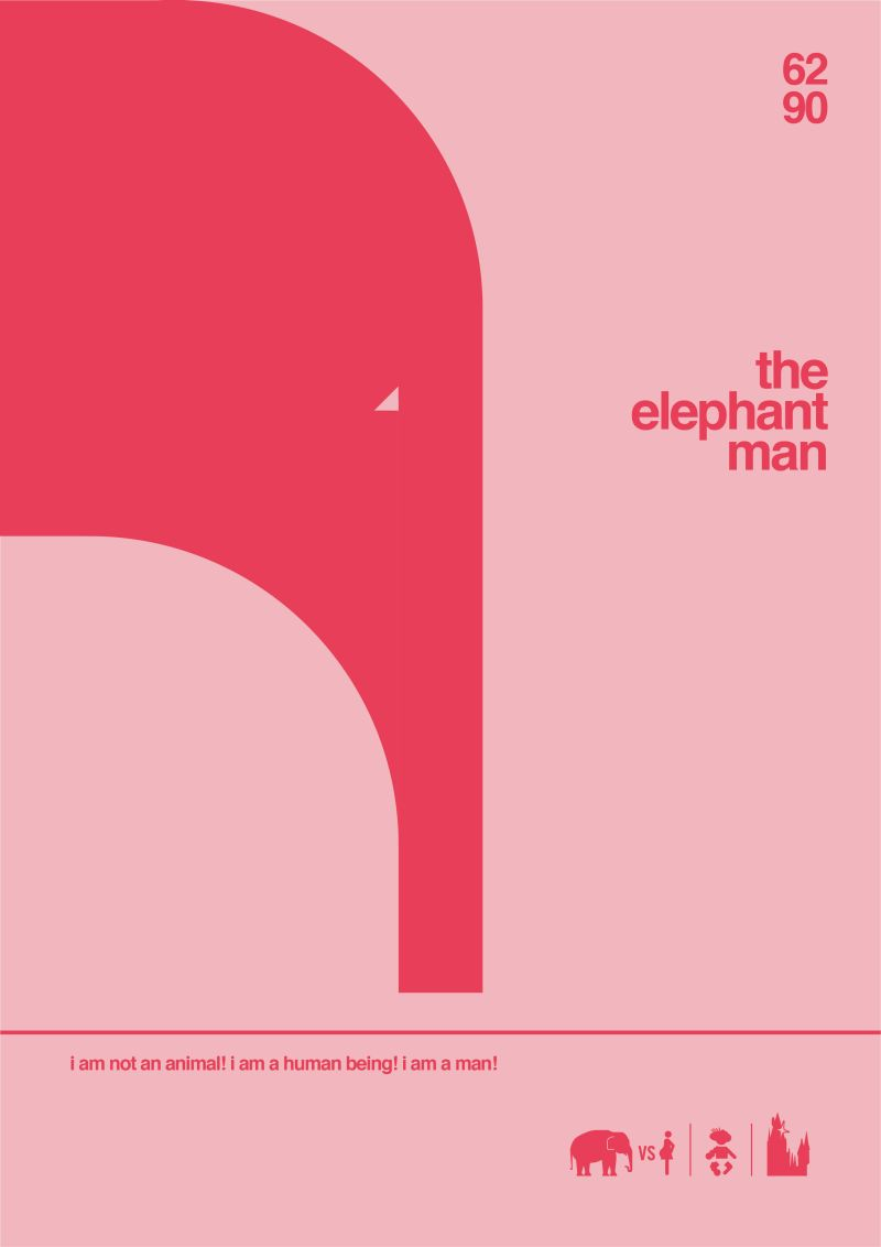 Shortology minimal project The Elephant Man 228x326