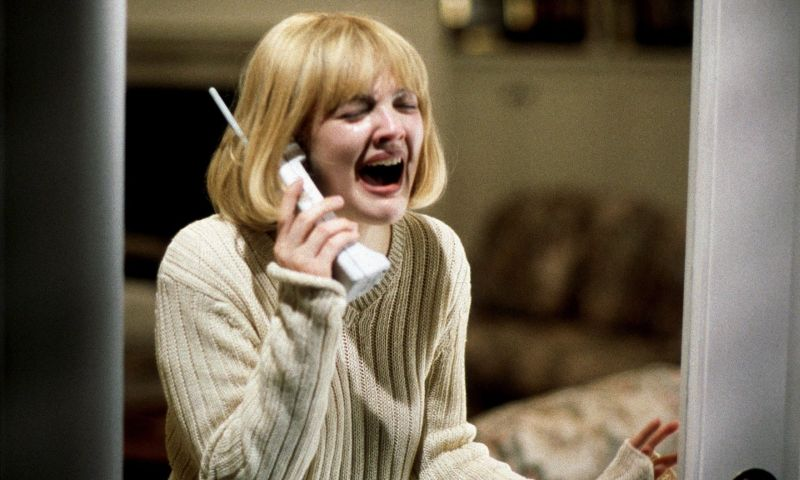 Drew Barrymore in Scream