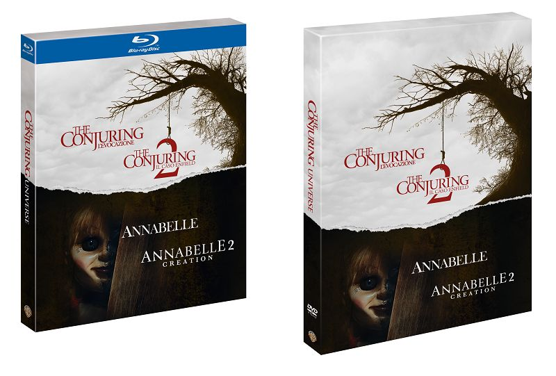 conjuring universe blu ray 3d