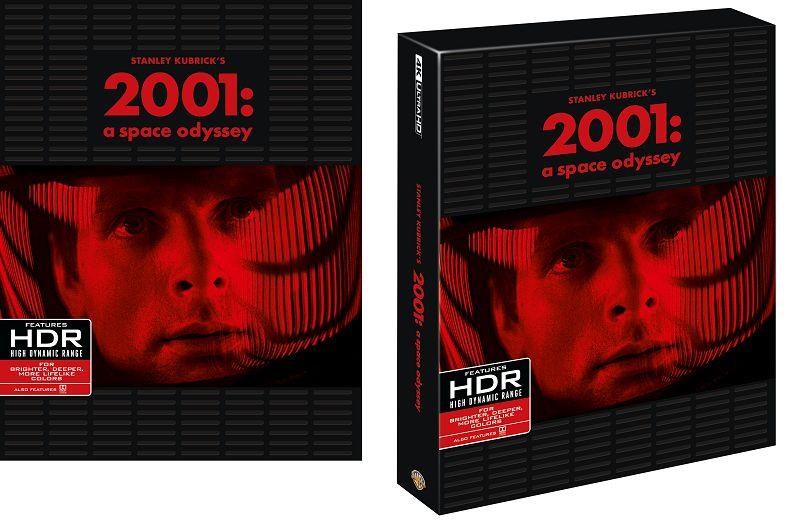 2001 odissea nello spazio 4K 2d