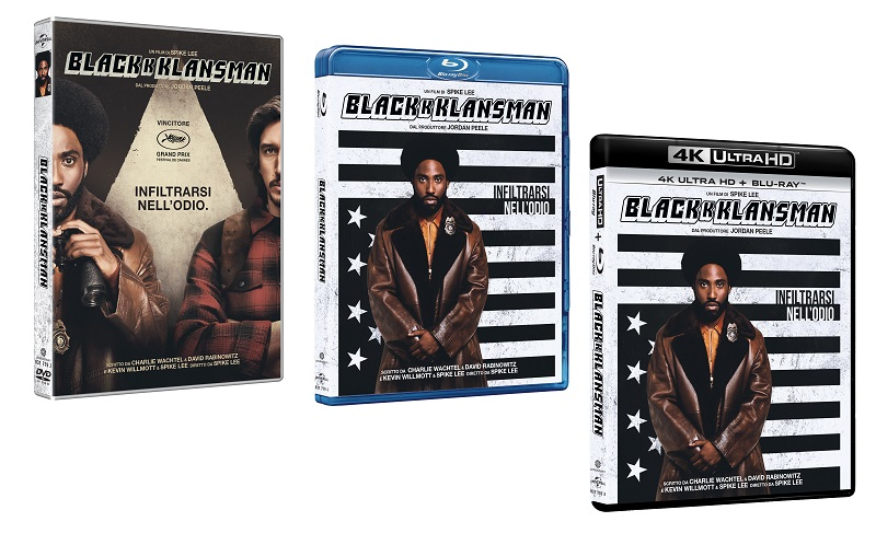 BLACKkKLANSMAN HV