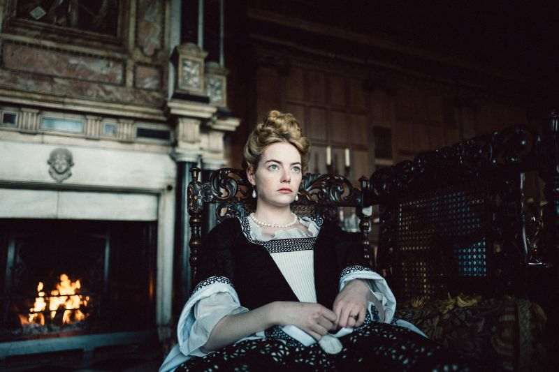 Emma Stone (Photo by Yorgos Lanthimos.© 2018 Twentieth Century Fox Film Corporation All Rights Reserved)