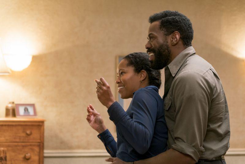 Regina King (Sharon) e Colman Domingo (Joseph)