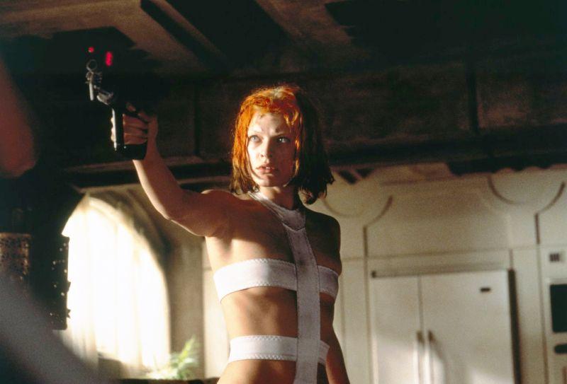 """Milla Jovovich eroina de """"Il Quinto Elemento"""""""