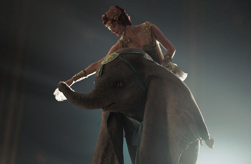 Dumbo con Eva Green © 2019 Disney Enterprises, Inc. All Rights Reserved..