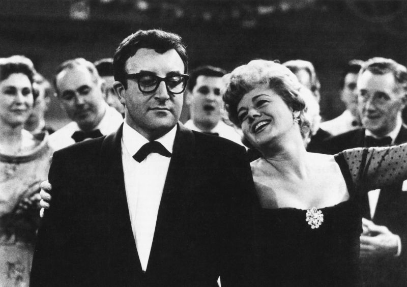 Peter Sellers e Shelley Winters