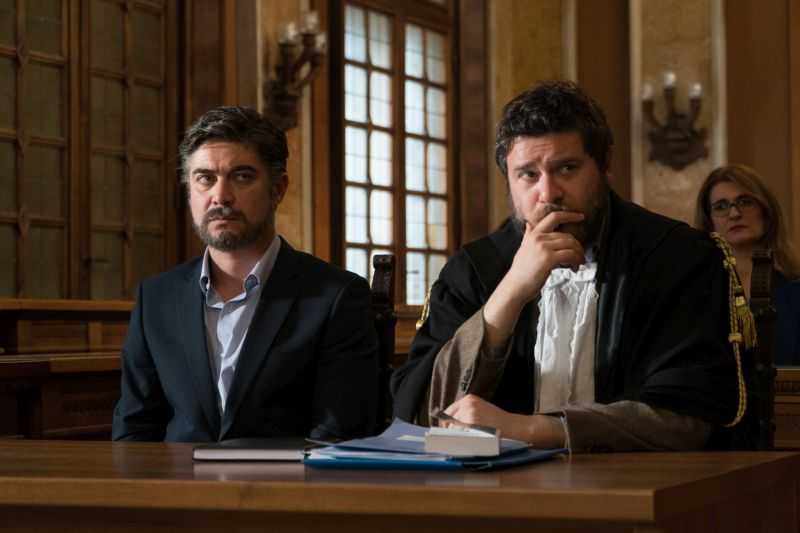 Riccardo Scamarcio e Edoardo Pesce