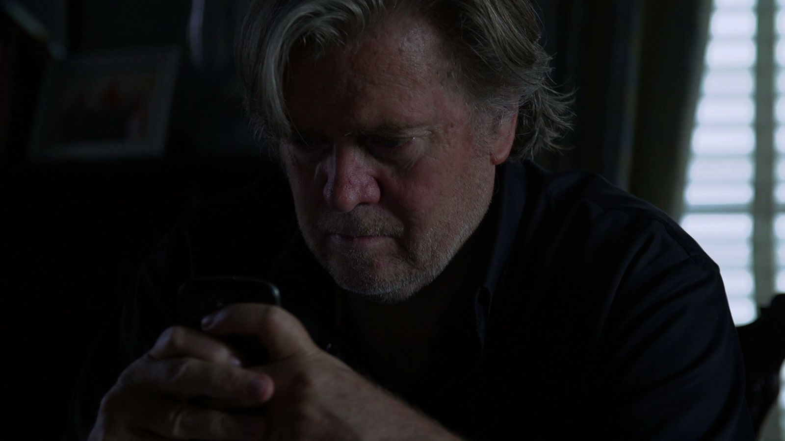 Steve Bannon in THE BRINK, a Magnolia Pictures release. Photo courtesy of Magnolia Pictures
