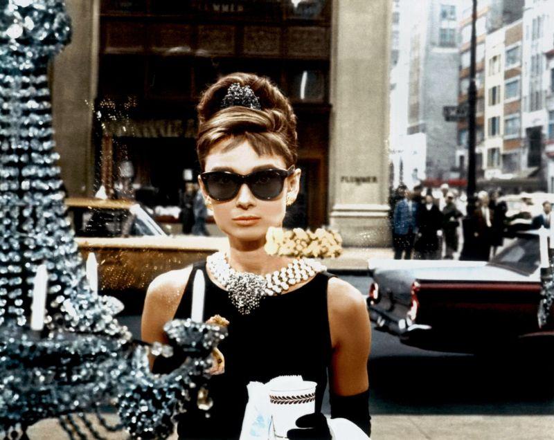 """Nel celebre """"Colazione da Tiffany"""""""