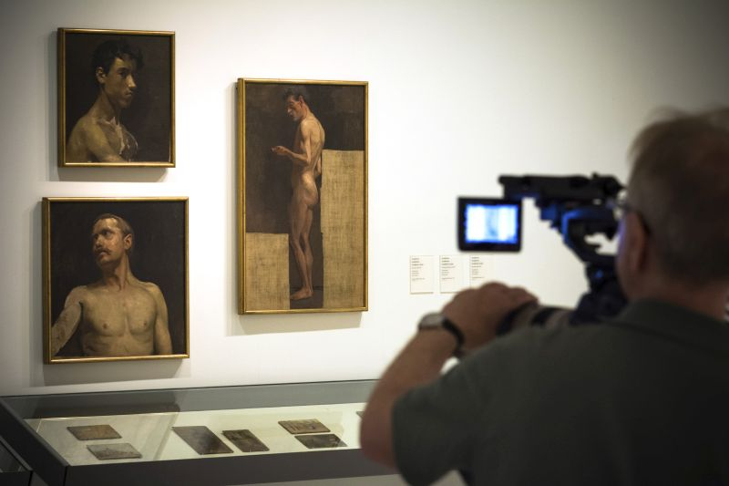 Academic studies, Picasso, 1896-97, EOS Young Picasso -® EXHIBITION ON SCREEN