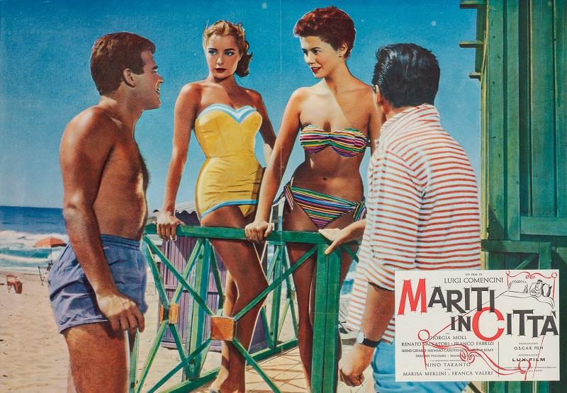 Mariti in città, 1957 Regia Luigi Comencini, fotobusta