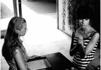 Io la conoscevo bene di Antonio Pietrangeli  Loretta Goggi e Stefania Sandrelli 1964, ph G.B. Poletto