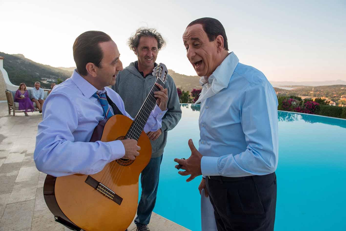 Loro 2 di Paolo Sorrentino Giovanni Esposito, Paolo Sorrentino e Toni Servillo 2018, ph Gianni Fiorito