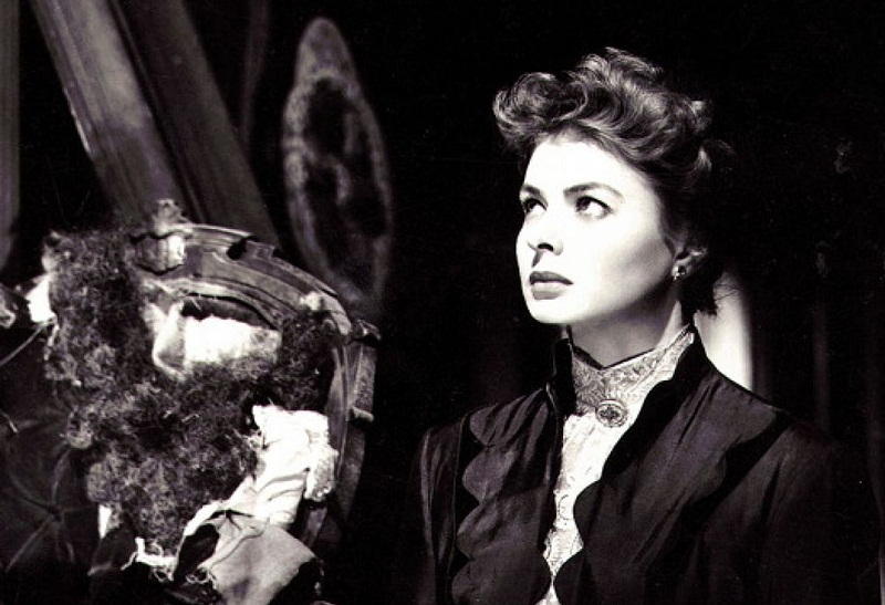 "Ingrid Bergman in ""Angoscia"""
