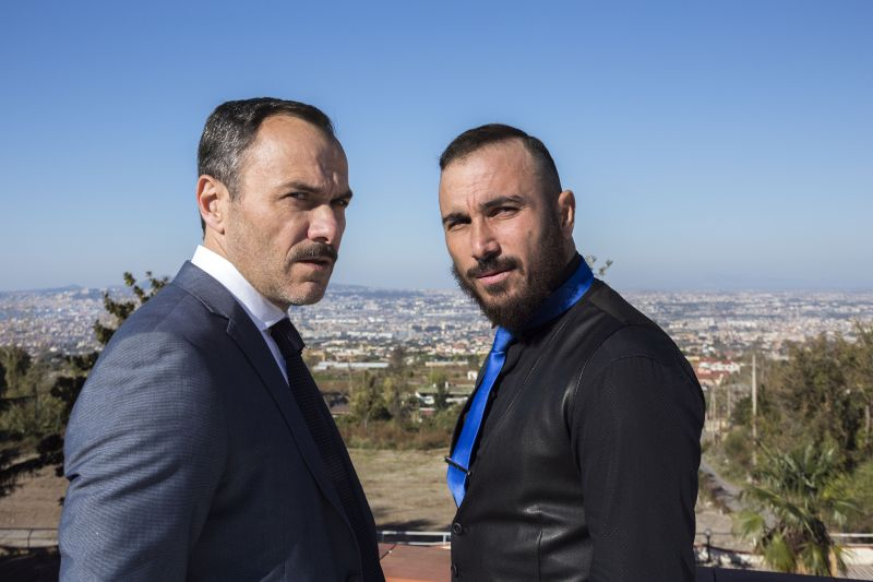 Massimiliano Gallo e Francesco Di Leva (foto Mario Spada)