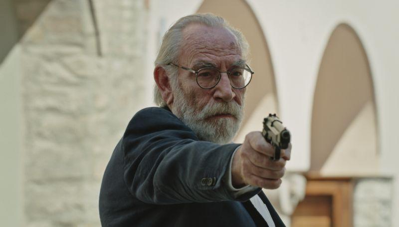 """Renato Carpentieri in """"Passatempo"""""""
