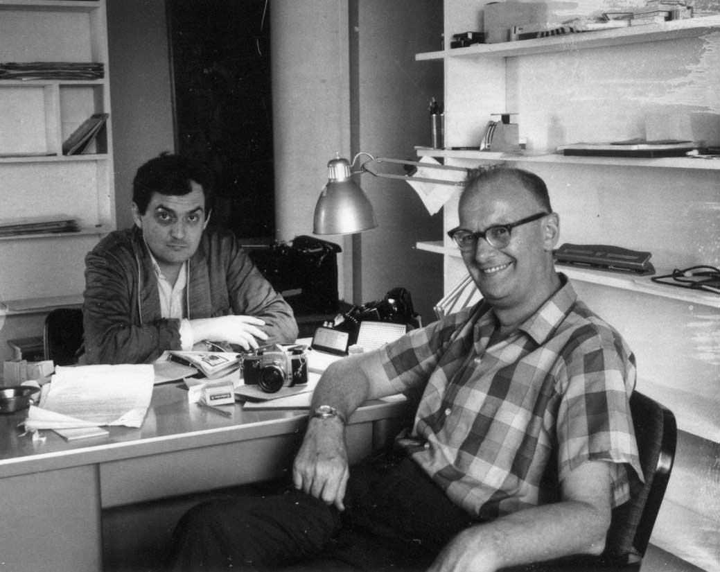 2001 Tra Kubrick e Clarke 3