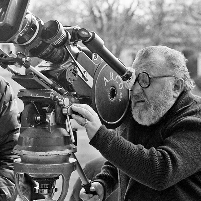 Sergio Leone,1983. Foto di Angelo Novi gentilmente concessa a titolo gratuito da ©Archivio fotografico della Cineteca Nazionale, Roma